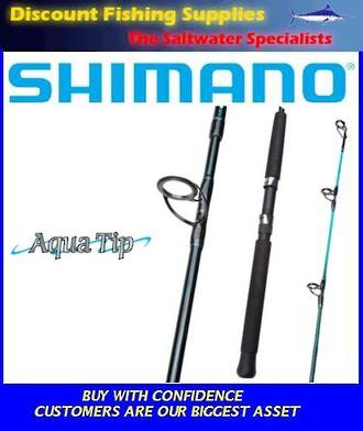 Shimano Aquatip Spin Rod 8-12kg 8' 2pc