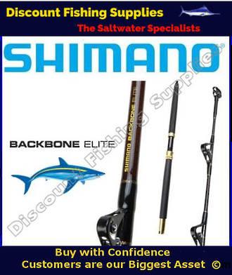 Shimano Backbone Elite Standup Game Rod 24kg FULLY ROLLERED