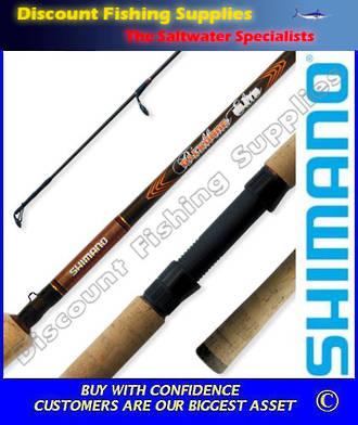 """Shimano Backbone Elite Light Spin Rod 2pc 3-5kg 6'6"""""""