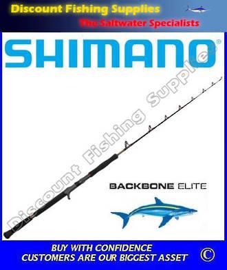 Shimano Backbone Elite Overhead/Jig Rod 24/37kg 400gr