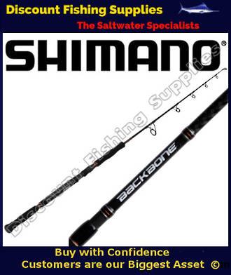 Shimano Backbone Spin/Jig Rod 15/24kg - 200gr