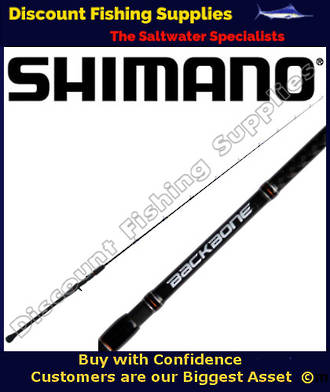 "Shimano Backbone Slow Pitch O/H Rod 6' 8"" - 15-20lb"