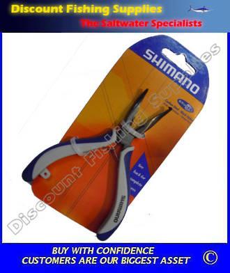 """Shimano Brutus 4.5"""" Bentnose Split Ring Plier"""