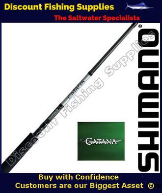 """Shimano Catana Softbait Rod 6-8kg - 7'3"""" - 2pc"""