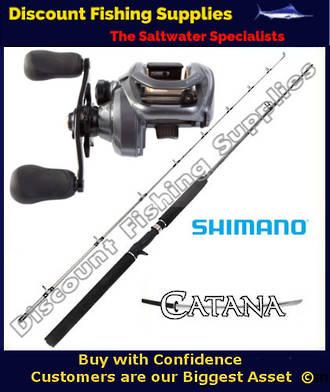 Shimano Citica 200 I HG - Catana Baitcaster Combo 4-8kg 2pc