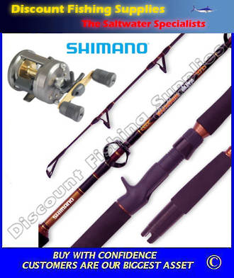 Shimano Corvalus 300 - Backbone Elite 5-8kg 2pc Baitcaster Combo