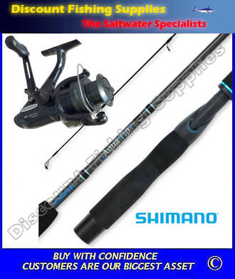Shimano Baitrunner DL4000FB - Aquatip Combo 4-8kg 2pc