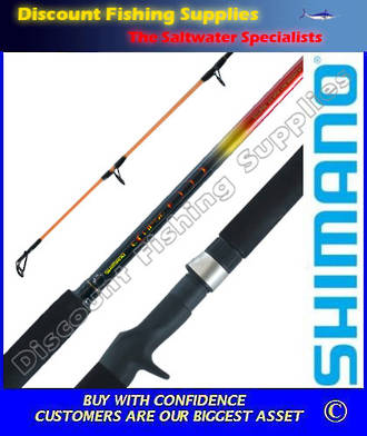 "Shimano Eclipse Baitcast Rod 2-5kg 5'6"" 2pc"