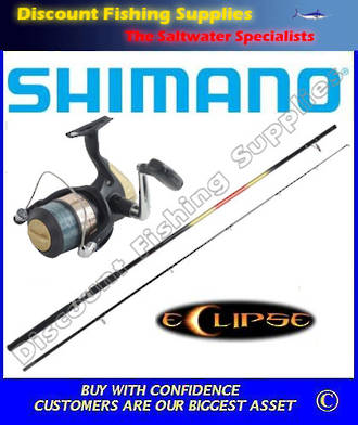 Shimano Eclipse - Hyperloop 6000 Surf Combo 12' 2pc