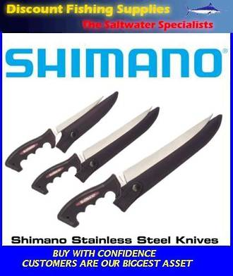 Shimano S/S Fillet Knife - 9""