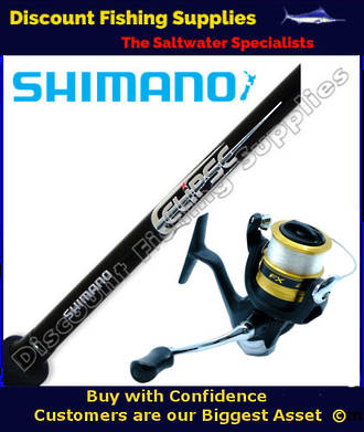 Shimano FX 4000 - Eclipse Spin Combo 4-8kg 5ft