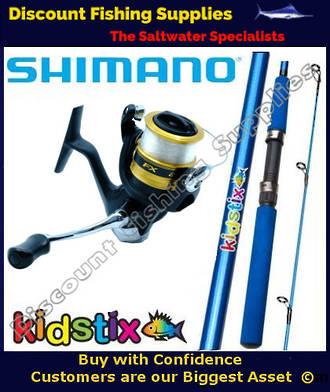 Shimano KidStix / FX4000 Kids Combo - Blue 5ft