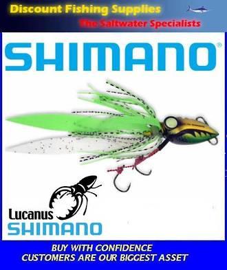 Shimano Lucanus Jig 60gm - Green/Gold