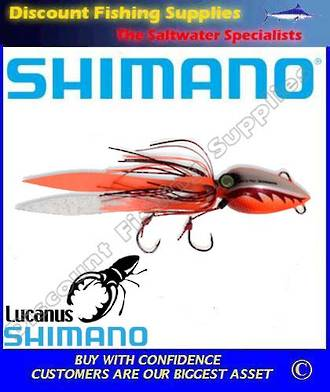 Shimano Lucanus Jig 150gm - Orange/White