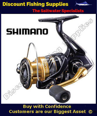 Shimano Nasci 4000FB XG Spin Reel
