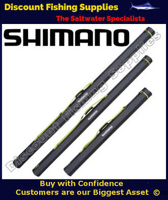 """Shimano Rod Tube - Suits 3pc Surf Rods 6"""" 1piece or 8'3"""" 2pc Stickbait rods"""
