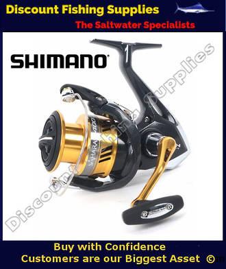 Shimano Sahara 4000FI XG Softbait Reel