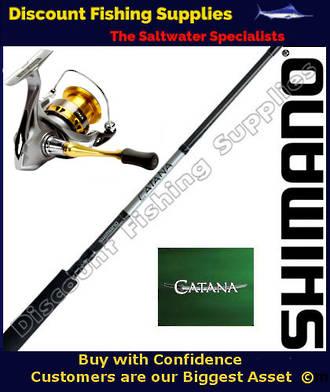 Shimano Sedona 2500 - Catana Spinning Combo 3-6kg