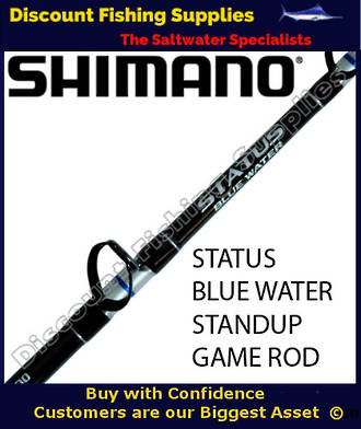 Shimano Status Bluewater 37kg Standup Game Rod