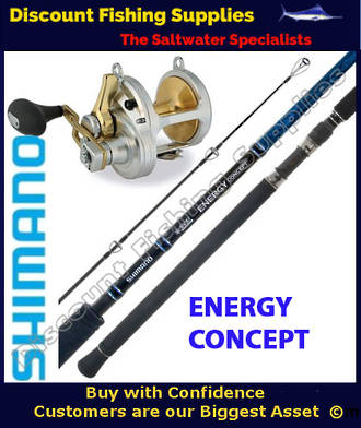 Shimano Talica 16 2speed - Energy Concept 2pc 24kg Combo
