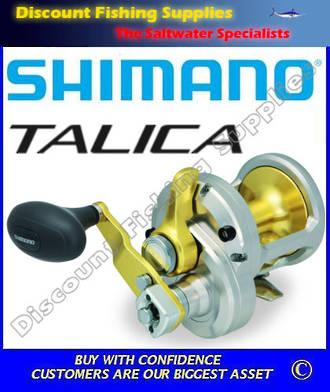 Shimano Talica 12II 2 speed Reel