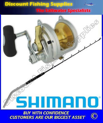 Shimano Talica 50II Status Bent Butt 37kg Combo