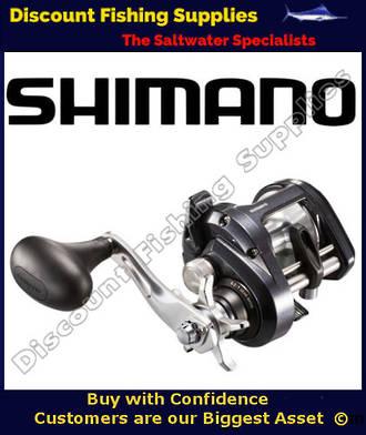 Shimano Tekota 600 A-HG overhead fishing reel