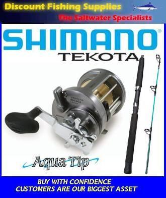Shimano Tekota 700 / Aquatip 24kg Boat Combo