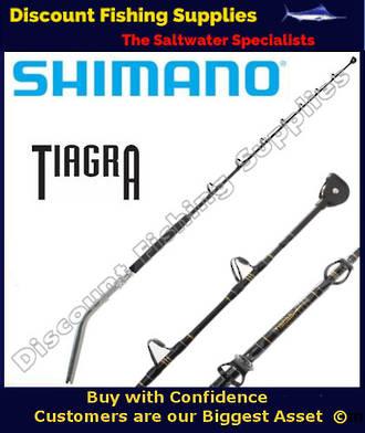 Shimano TIAGRA Series 37kg Bent Butt Game Rod