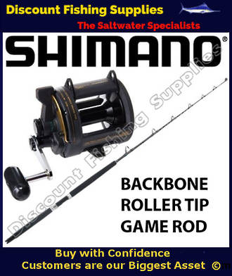 Shimano TLD25 / Backbone Elite 24kg R/T Combo