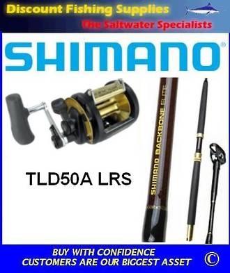Shimano TLD50A LRS 2Speed / Backbone Elite SU Combo R/Tip