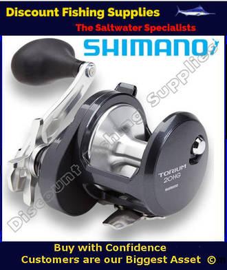 Shimano Torium 20HGA High Speed Reel