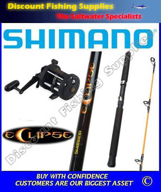 Shimano TR200G - Eclipse Boat Combo 10kg