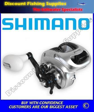 Shimano Tranx 500PG Baitcaster Reel - 24kg
