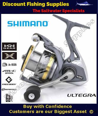 Shimano Ultegra 2500FB Softbait Spin Reel