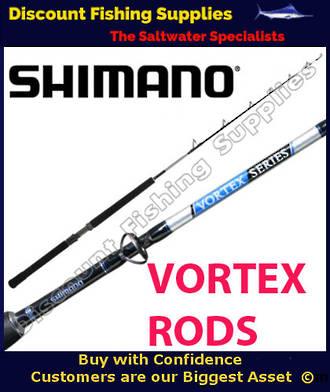 Shimano Vortex Overhead Game Rod 5ft 6in 24-37kg