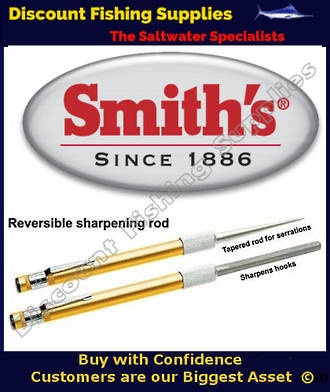 Smith's Diamond Retractable Sharpener for Hooks and Knives