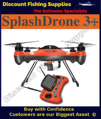 Swellpro SplashDrone 3+ FISHERMAN Model - Fishing Drone
