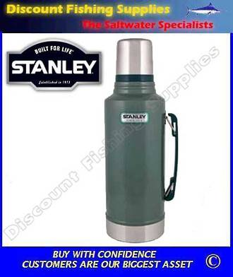 Stanley Classic 1lt Flask Green (LIFETIME WARRANTY)