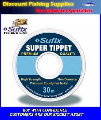 Sufix Super Tippet - 3.5lb - 6X