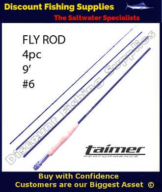 Taimer LT Fly Rod 9' - 4pc - #6