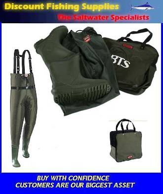 Taimer BTS Hi-Elastic Chest Waders SIZE 13