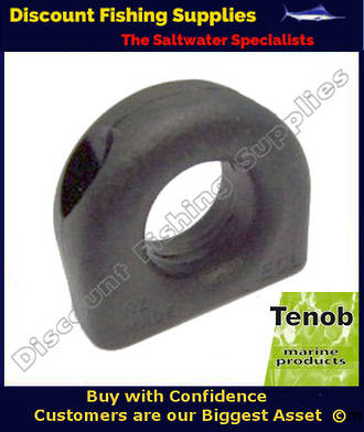 Tenob 13mm Black Deadeye - Fairlead