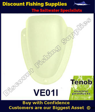 Tenob 95mm Ivory Nylon Vent
