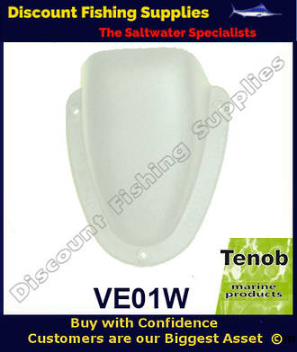 Tenob 95mm White Nylon Vent