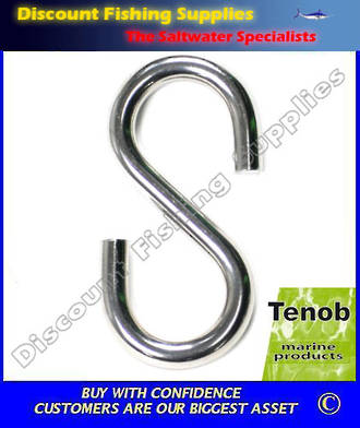 Tenob 6mm S Hook