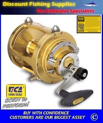 TiCA Team Gold 50WTS 2 speed Game Reel