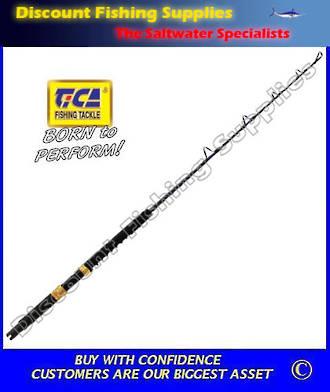 "Tica Ocean Enforcer 24-37kg Boat Rod 4'6"""