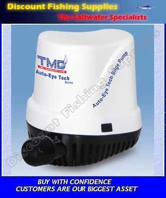 Bilge Pump - TMC - 1000GPH Automatic