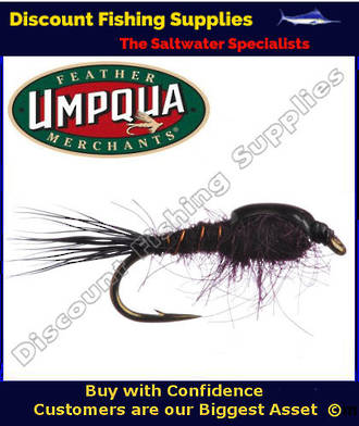 Umpqua Claret Nymph #14 Fly